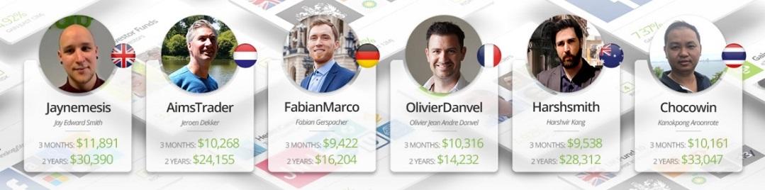 eToro Popular investors