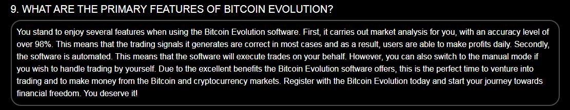 Bitcoin Evolution Comment fonctionnent les algorithmes de trading?
