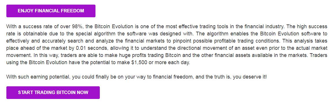 Bitcoin Evolution Technologie de l'IA