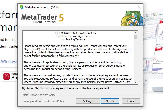 Metatrader 5 L'installation Sur PC