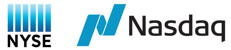 Le marché des actions NYSE Nasdaq